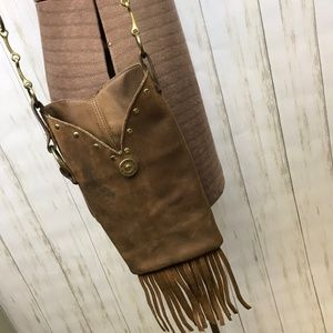Vintage | Upcycled Leather Boot Purse